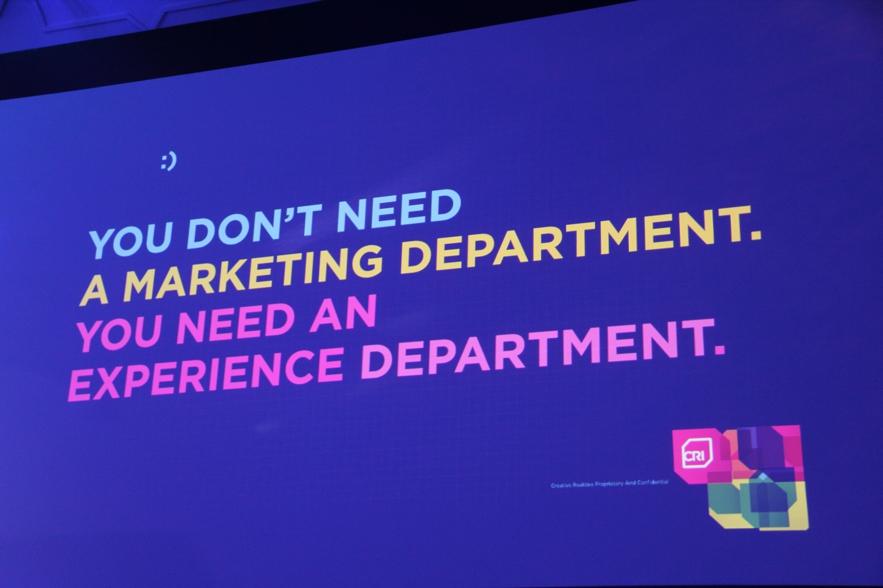 Zdanie, które zmieniło mój sposób myślenia o marketingu.