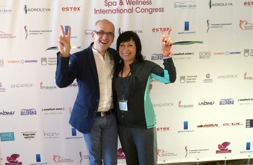 MIńsk 2015. Elena Bogacheva CEO Spa & Wellness International Council
